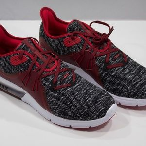 Nike Air Max Sequent 3 Running Shoes red 921694